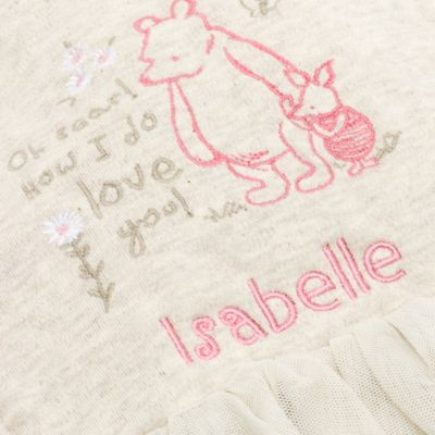 Winnie the Pooh Baby Pinafore Set