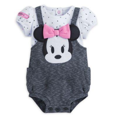Conjunto de mono y camiseta de Minnie para bebé