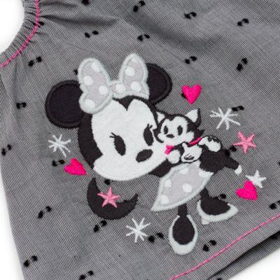 Minnie Maus - Set mit Oberteil und Shorts für Babys