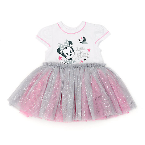 Conjunto de tutú y braguitas Minnie Mouse para bebé