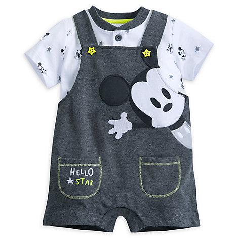 Conjunto de peto y pelele Mickey Mouse para bebé