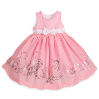 Ensemble gilet, robe et culotte Winnie l'Ourson pour bébé