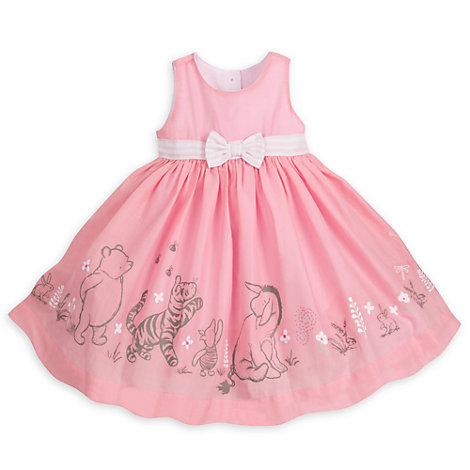 Winnie Puuh - Set mit Partykleid, Strickjacke und Höschen für Babys