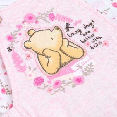 Winnie Puuh - Set mit Strampler und Oberteil für Babys