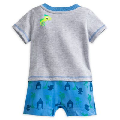 Stitch Baby Romper