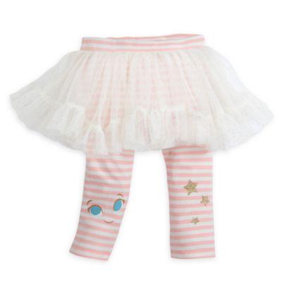 Tingeling-babyset med topp, överdragsbyxor och ballerinakjol