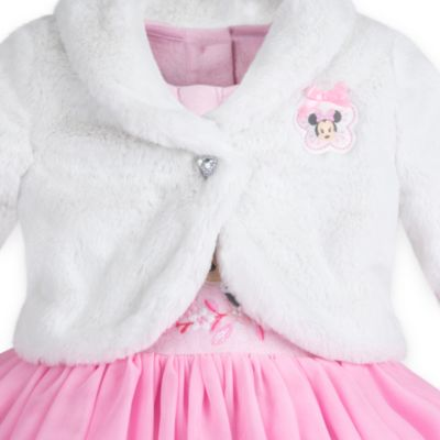 Minnie Mouse Baby Jacket and Dress Set