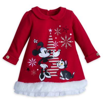 Minnie Mouse babysæt med kjole, leggings og hat