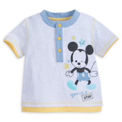Mickey Mouse Baby Top and Shorts Set