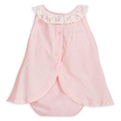 Conjunto mono y vestido Conejita para bebés