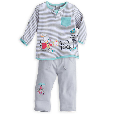 Alice im Wunderland – 2-teiliges Set für Babys