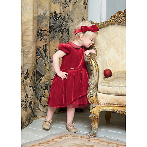 Vestito elegante bambina Biancaneve