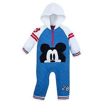 Disney Store Mickey Mouse Long Leg Baby Romper