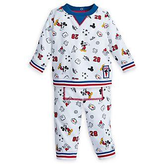 Conjunto camiseta manga larga y pantalón Mickey Mouse para bebé, Disney Store