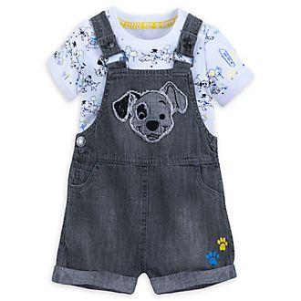 Disney Store 101 Dalmatians Baby Dungaree Set