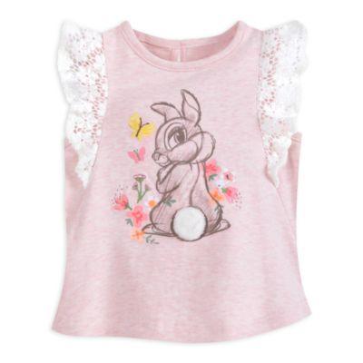 Ensemble haut et culotte Miss Bunny pour bébés