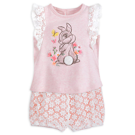 Miss Bunny Baby Top and Bloomers Set