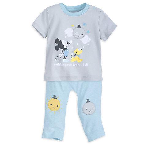 Mickey Mouse Baby Pyjamas