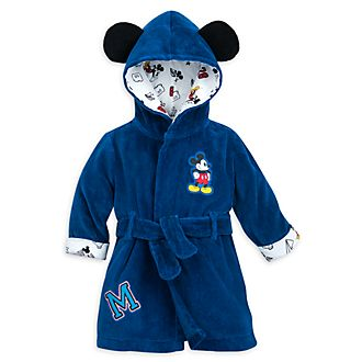 Disney Store Mickey Mouse Baby Bath Robe
