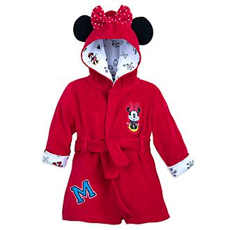 Disney Store - Minnie Maus - Bademantel für Babys