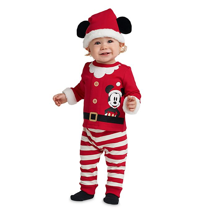 Disney Store Mickey Mouse Share the Magic Baby 3 Piece Set