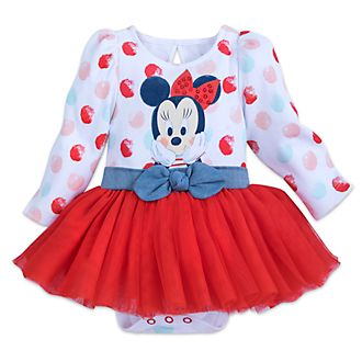Disney Store Minnie Mouse Baby Tutu Body Suit