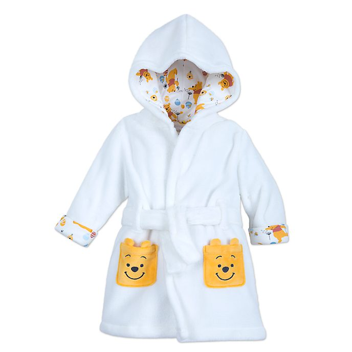Disney Store Winnie the Pooh Baby Dressing Gown
