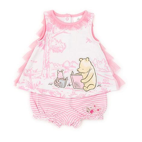 Ensemble top et short-culotte Winnie l'Ourson pour bébé
