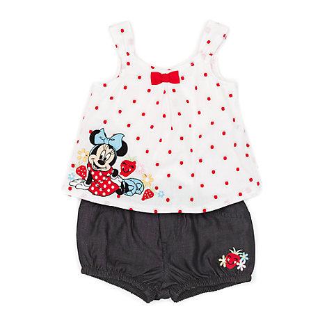 Ensemble top et short Minnie Mouse pour bébé