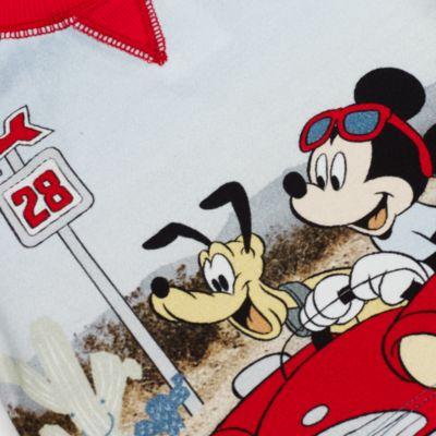 Conjunto camiseta y pantalones cortos Mickey Mouse para bebé