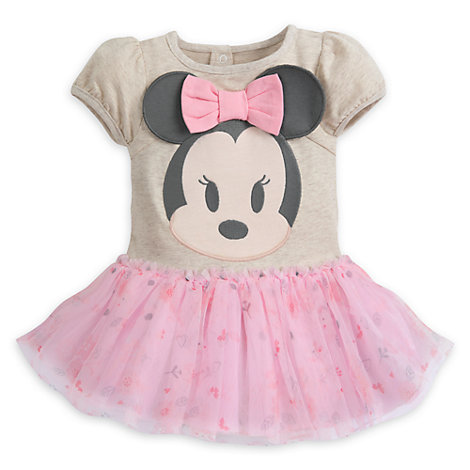 Minnie Mouse Baby Tutu Body Suit