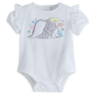 Dumbo - Set mit Trägerkleidchen und Body für Babys