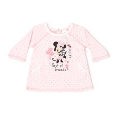 Minnie Mouse babysæt med pyjamas og sutsko