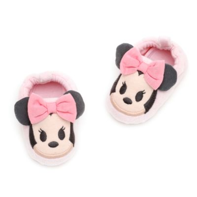 Minnie Mouse Baby Pyjama and Slipper Set