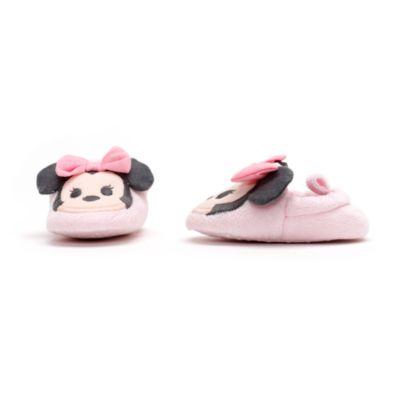 Completo pigiama e pantofole baby Minni