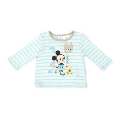 Ensemble pyjama et chaussons Mickey Mouse pour bébé