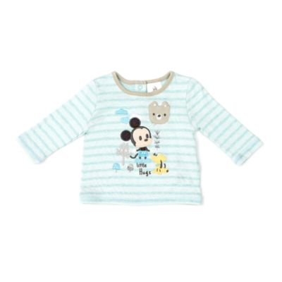 Mickey Mouse Baby Pyjama and Slipper Set