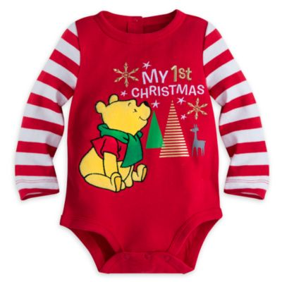 Winne The Pooh Baby Bodysuit