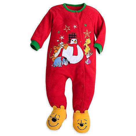 Winne The Pooh Baby Sleepsuit