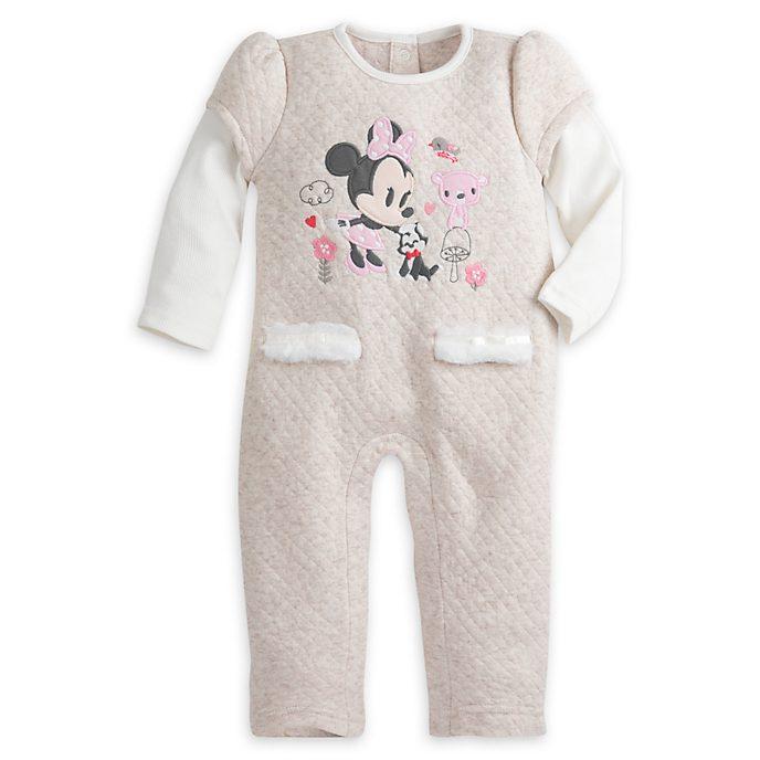 0ba3f09b56a1a4 Minnie Maus - Strampler für Babys