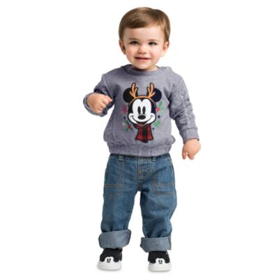 Mickey Mouse Baby Sweatshirt