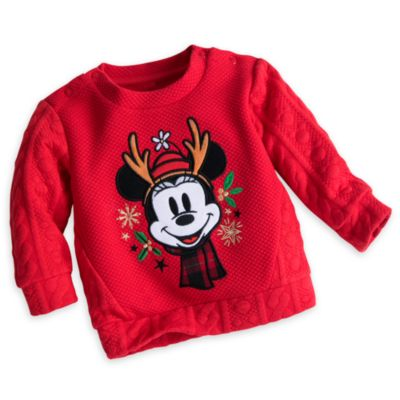 Minnie Mouse Baby Sweatshirt