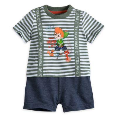 Barboteuse Peter Pan pour bébé