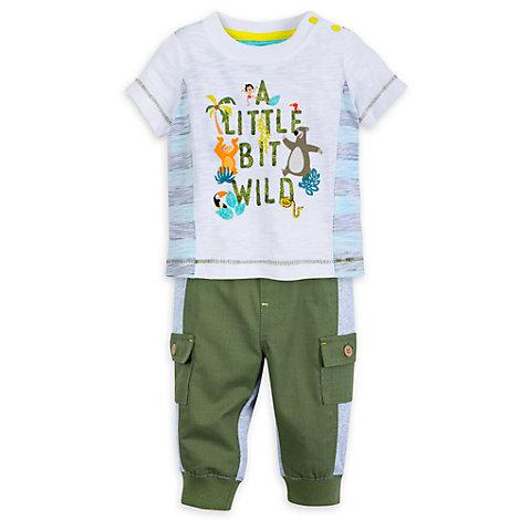 Das Dschungelbuch - Set aus Oberteil und Hose für Babys