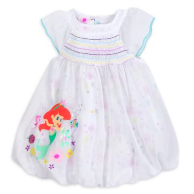 The Little Mermaid Baby Dress and Bloomers Set