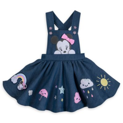 Minnie Mouse Baby Dress and Body Suit Set