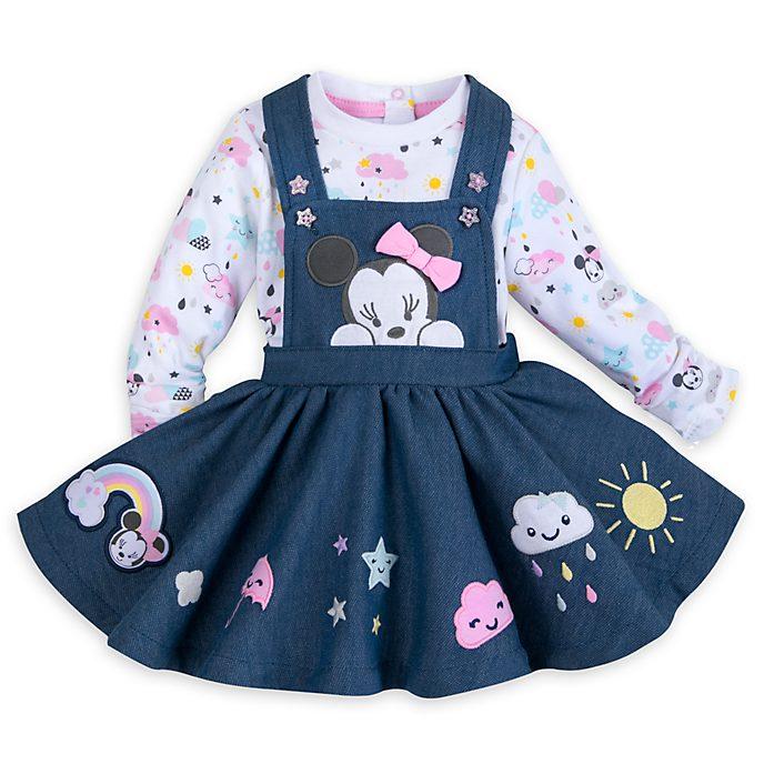 Minnie Maus - Set aus Einteiler und Kleid für Babys