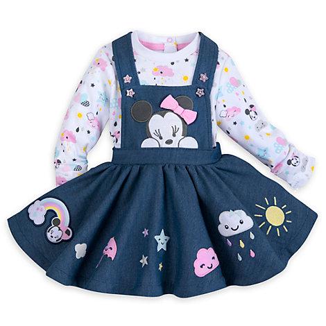Ensemble robe et body pour bébé Minnie Mouse