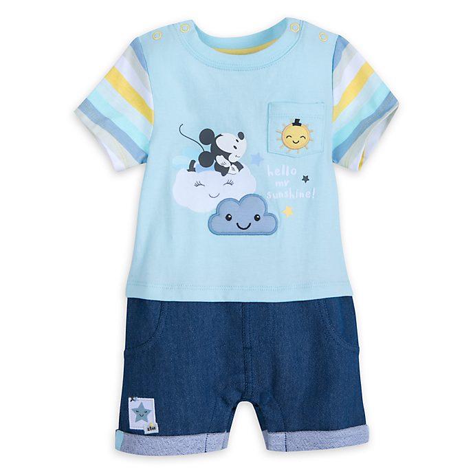 Micky Maus - Babystrampler