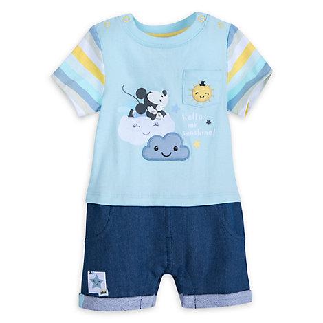 Barboteuse Mickey Mouse pour bébé